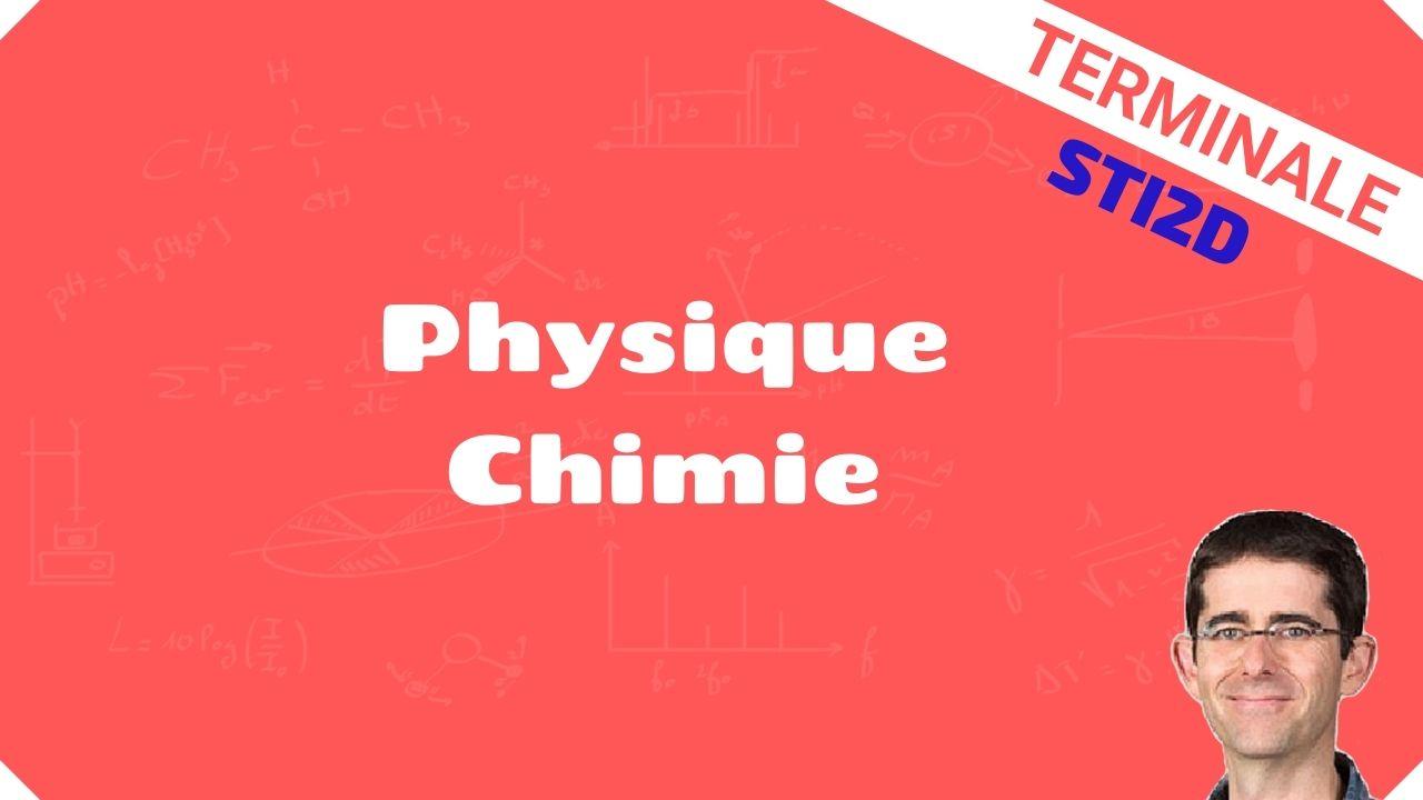 Terminale STI2D physique chimie